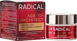 Parfumuri și produse cosmetice Cremă de față împotriva ridurilor 70+ - Farmona Radical Age Architect Cream 70+ SPF15