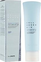 Мягкий пилинг-скатка для очищения кожи от мертвых клеток - The Saem Cell Renew Bio Micro Peel Soft Gel — фото N1
