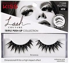 Parfumuri și produse cosmetice Gene false - Kiss Lash Couture Triple Push Up False Collection Brassiere