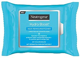 Parfumuri și produse cosmetice Șervețele umede - Neutrogena Hydro Boost