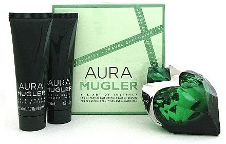 Thierry Mugler Aura Mugler - Set (edp/50ml + b/lot/50ml + sh/gel/50ml) — Imagine N1