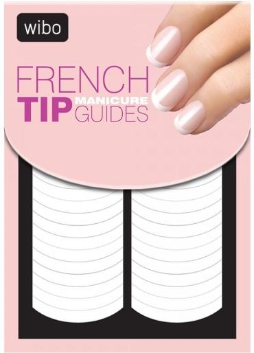 Șabloane pentru manichiura french - Wibo French Manicure Tip Guides — Imagine N1
