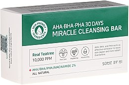 Parfumuri și produse cosmetice Săpun pentru față - Some By Mi AHA/BHA/PHA 30 Days Miracle Cleansing Bar