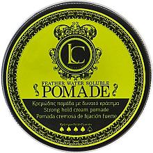 Parfumuri și produse cosmetice Pomadă de păr pentru bărbați, fixare puternică - Lavish Care Feather Water Soluble Pomade Strong Hold