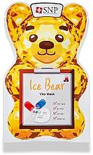 Parfumuri și produse cosmetice Mască cu vitamine pentru față - SNP Ice Bear Vita Mask