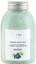 """Parfumuri și produse cosmetice Sare de baie """"Struguri"""" - Kanu Nature Grapes Fizzing Bath Salt"""