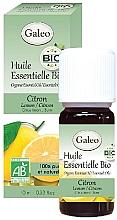 Parfumuri și produse cosmetice Ulei esențial organic de lămâie - Galeo Organic Essential Oil Lemon