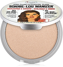 Духи, Парфюмерия, косметика Iluminator, shimmer și fard - theBalm Bonnie-Lou Manizer Highlighter & Shadow (tester)