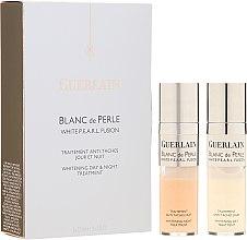 Parfumuri și produse cosmetice Ser facial - Guerlain Blanc De Perle Whitening Day & Night Treatment
