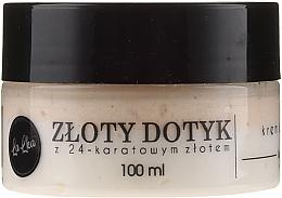 Parfumuri și produse cosmetice Cremă cu aur de 24k pentru față - Lalka