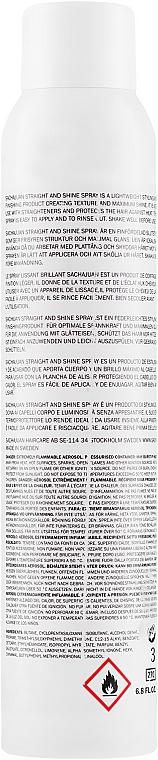 Spray pentru păr - Sachajuan Stockholm Straight And Shine Spray — Imagine N2