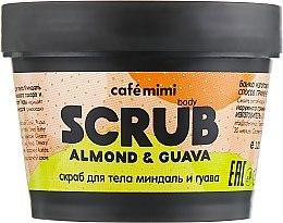 "Parfumuri și produse cosmetice Scrub pentru corp ""Migdale și Guava"" - Cafe Mimi Body Scrub Almond & Guava"