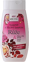 "Parfumuri și produse cosmetice Șampon pentru păr ""Trandafir"" - Bione Cosmetics Rose Shampoo"