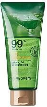 Parfumuri și produse cosmetice Gel de corp - The Saem Jeju Fresh Aloe Soothing Gel 99% (tub)