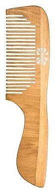 Pieptene pentru păr - Ronney Professional Wooden Comb 122