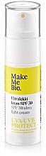 Parfumuri și produse cosmetice Cremă de față SPF30 - Make Me Bio Ultra Light Face Cream SPF30