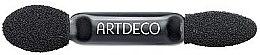 Parfumuri și produse cosmetice Aplicator dublu pentru farduri de pleoape - Artdeco Double Applicator for Trio Box