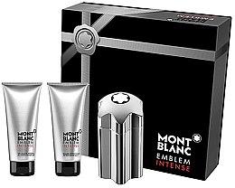 Parfumuri și produse cosmetice Montblanc Emblem Intense - Set (edt/100ml + a/sh/b/100ml + sh/g/100ml)