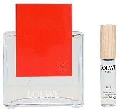 Parfumuri și produse cosmetice Loewe Solo Loewe Ella - Set (edp/100ml + edp/7.5ml)