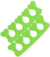 Parfumuri și produse cosmetice Separator degete pentru pedichiură 00524, verde deschis - Ronney Professional Finger Separator