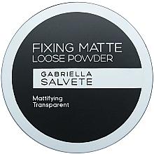 Parfumuri și produse cosmetice Pudră de față - Gabriella Salvete Fixing Matte Loose Transparent Powder