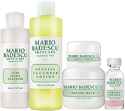 Parfumuri și produse cosmetice Set - Mario Badescu Acne Control Kit (lot/29ml+cr/14g+mask/56g+cleanser/177ml+lot/236ml)