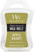 Parfumuri și produse cosmetice Ceară aromată - WoodWick Wax Melt Apple Basket