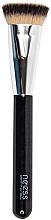 Parfumuri și produse cosmetice Pensulă pentru fond de ten - Neess Flat Top