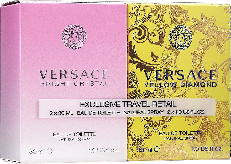 Versace Bright Crystal - Set (edt/30ml + edt/30ml)