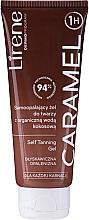 Parfumuri și produse cosmetice Gel autobronzant cu apă organică de nucă de cocos - Lirene Self Tanning Gel Caramel