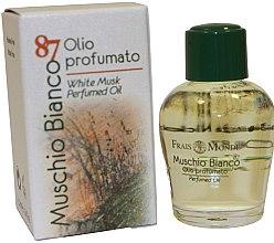 "Parfumuri și produse cosmetice Ulei parfumat ""Mosc alb"" - Frais Monde White Musk Perfumed Oil"