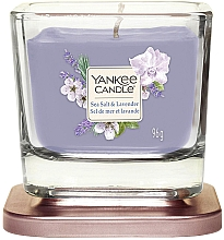 Parfumuri și produse cosmetice Lumânare aromatică - Yankee Candle Elevation Sea Salt & Lavender