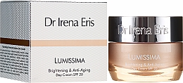 Parfumuri și produse cosmetice Cremă anti-îmbătrânire de zi - Dr. Irena Eris Lumissima Brightening & Anti-Aging Day Cream SPF 20