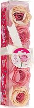 """Parfumuri și produse cosmetice Confetti pentru baie """"Trandafir"""", 5 bucăți - Spa Moments Bath Confetti Rose"""