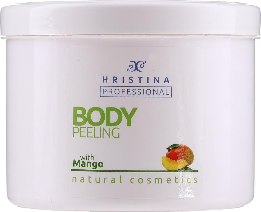 "Peeling pentru corp ""Mango"" - Hristina Professional 100% Natural Mango Body Peeling"