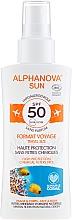 Parfumuri și produse cosmetice Spray cu protecție solară pentru corp - Alphanova Sun Bio SPF50 Spray Voyage