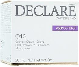 Parfumuri și produse cosmetice Cremă cu Coenzima Q10 pentru față - Declare Q10 Age Control Cream