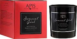 Parfumuri și produse cosmetice Lumânare aromată - APIS Professional Sensual Girl Soy Candle