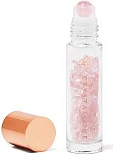 Parfumuri și produse cosmetice Flacon din cristal de cuarț roz, 10 ml - Crystallove