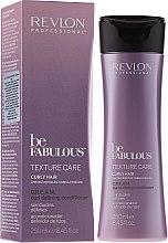 Parfumuri și produse cosmetice Balsam pentru păr ondulat - Revlon Professional Be Fabulous Care Curly Conditioner