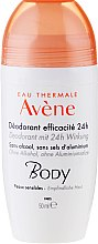 Parfumuri și produse cosmetice Deodorant roll-on pentru piele sensibilă - Avene Eau Thermale 24H Deodorant