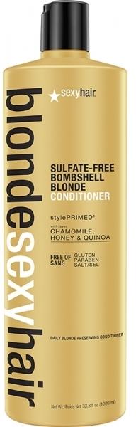 Balsam pentru păr blond - SexyHair BombshellSexyHair Blonde Hair Conditioner — Imagine N1