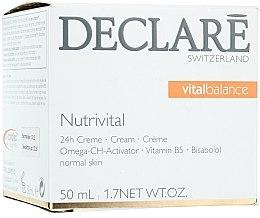 Parfumuri și produse cosmetice Cremă de față - Declare Nutrivital 24 h Cream