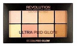 Parfumuri și produse cosmetice Paleta de farduri iluminatoare - Makeup Revolution Ultra Pro Glow