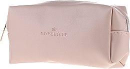 """Parfumuri și produse cosmetice Trusă cosmetică """"Leather"""", 96945, bej - Top Choice"""