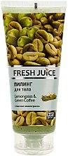 "Parfumuri și produse cosmetice Peeling de corp ""Lemongrass și cafea verde"" - Fresh Juice Lemongrass Green Coffee"