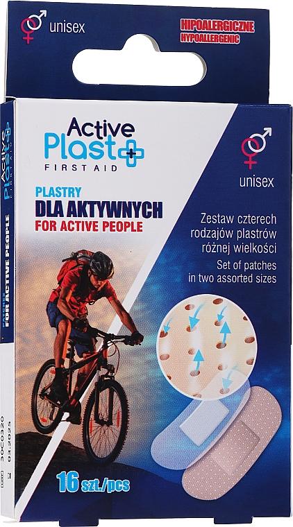 Набор пластырей для активных людей - Ntrade Active Plast First Aid For Active People Patches — фото N1