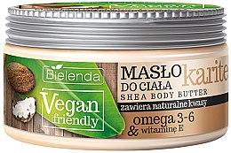 "Parfumuri și produse cosmetice Unt de corp ""Karite"" - Bielenda Vegan Friendly Shea Body Butter"