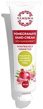 Parfumuri și produse cosmetice Cremă cu Aloe Vera și rodie pentru mâini - Yamuna Pomegranate Hand Cream With Aloe Vera