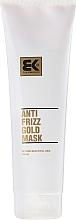 Parfumuri și produse cosmetice Mască regeneratoare pentru părul deteriorat - Brazil Keratin Anti Frizz Gold Mask